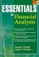 George T. Friedlob a kol.: Essentials of Financial Analysis